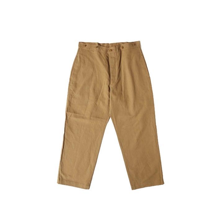 Image of COMOLI - Cotton Linen Wide Pant