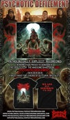Image of PSYCHOTIC DEFILEMENT -DESIGNED TO DIE COMBO PACK