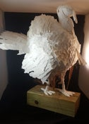 Image of Paper Sculpted Turkey