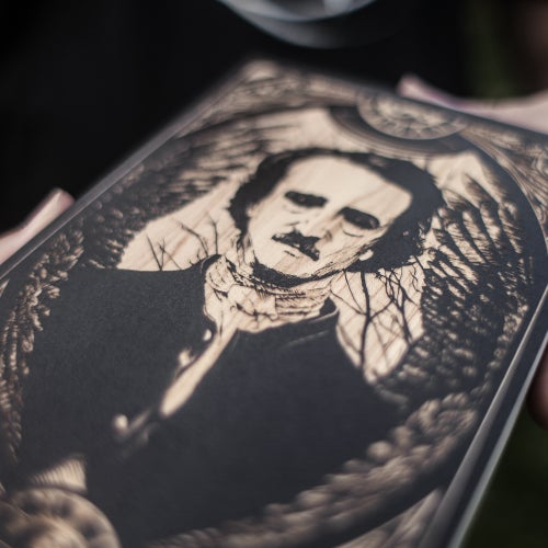 Image of Edgar Allan Poe mini