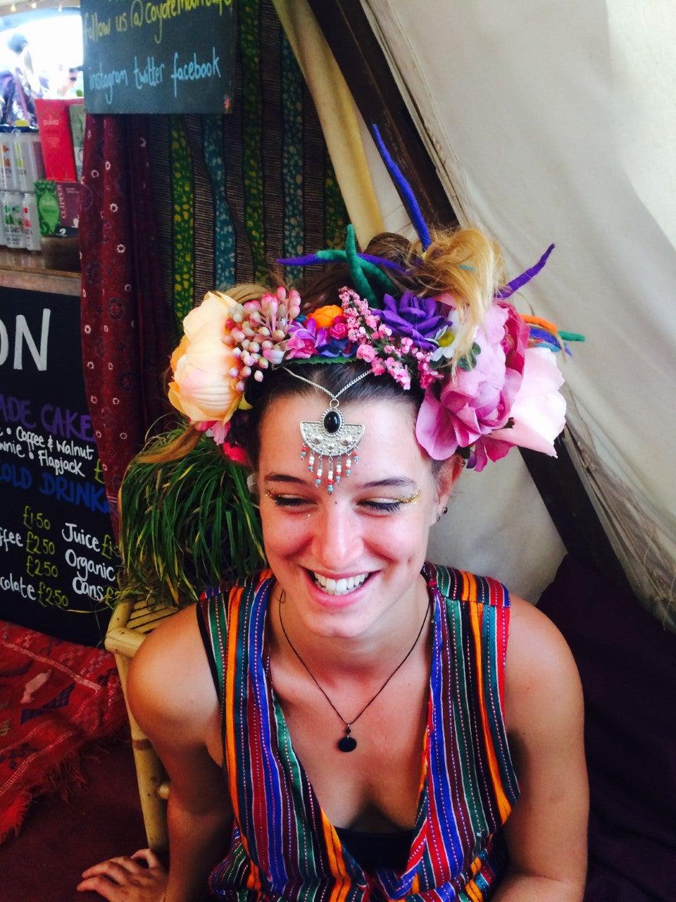 Image of Frida Wildflower Crown