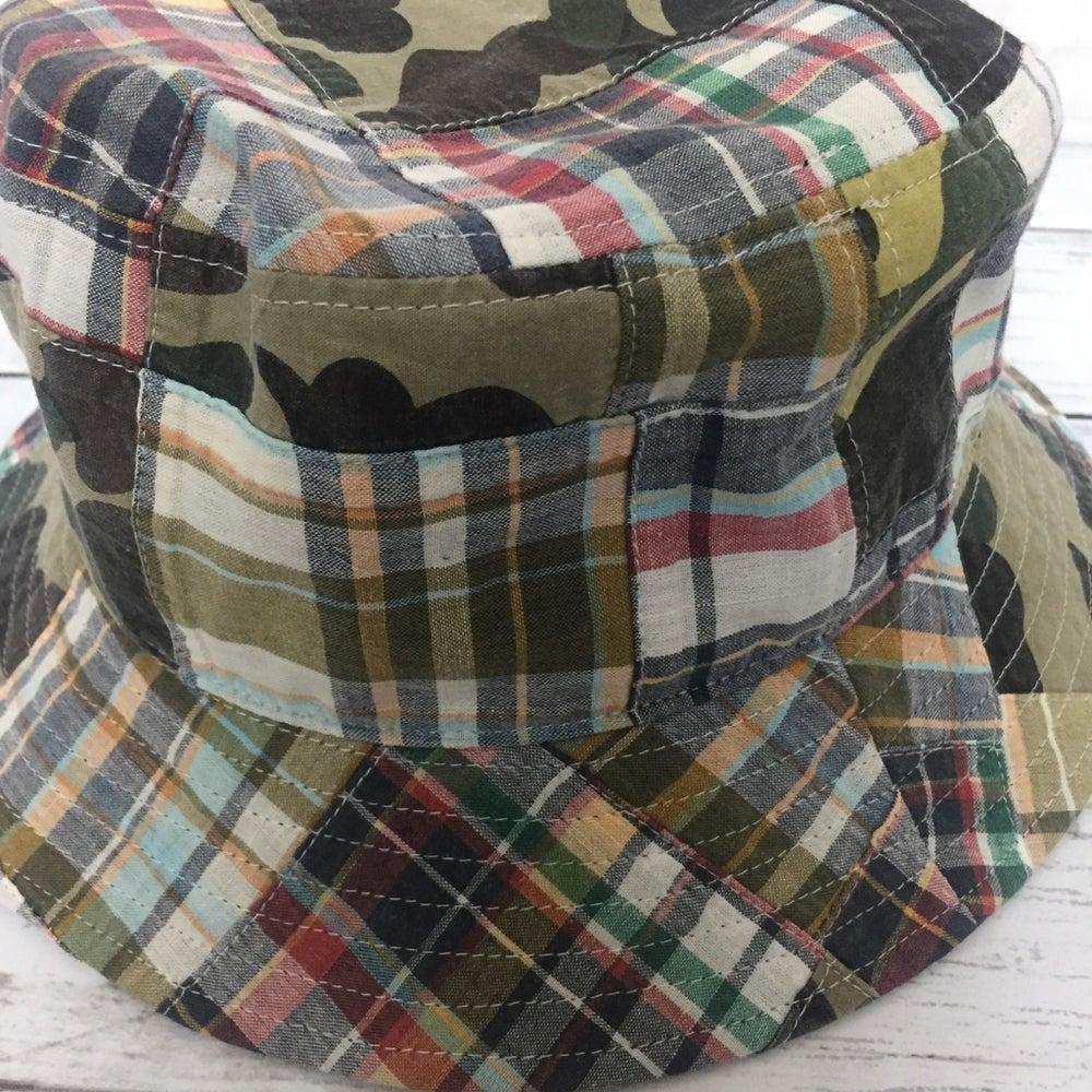 Image of Bape Patchwork Bucket Hat