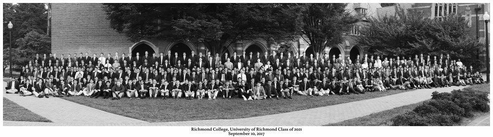 Image of Richmond College, University of Richmond Class of 2021