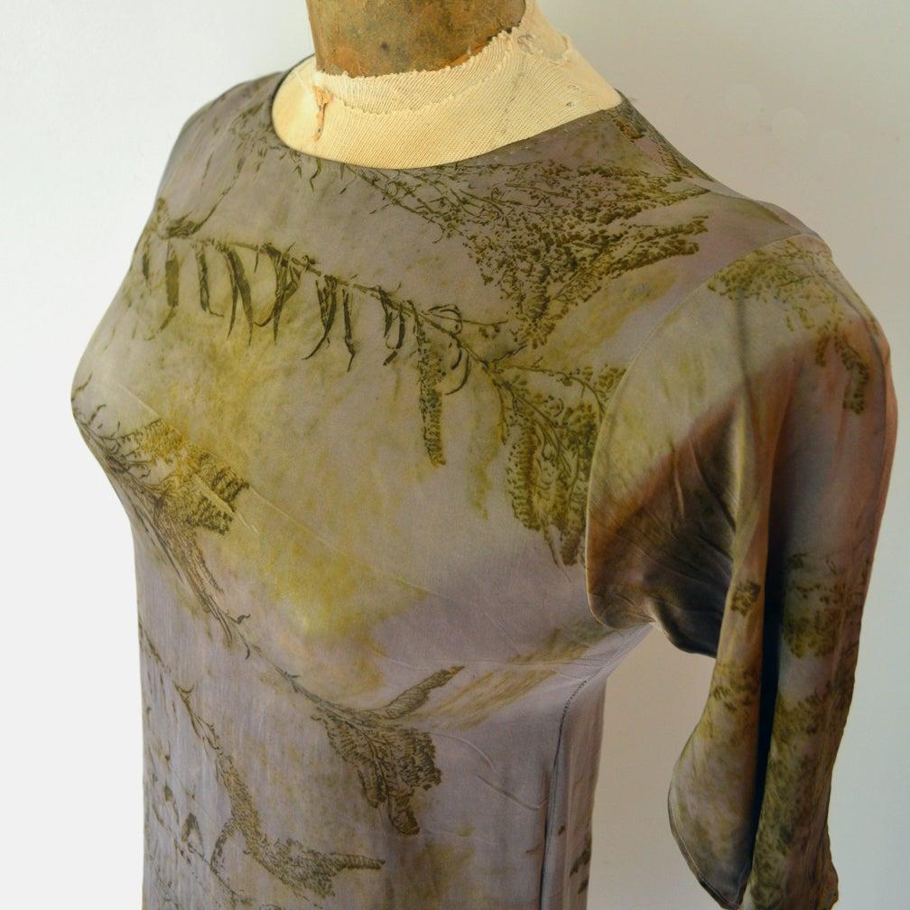 Image of Dusky steel second skin dress