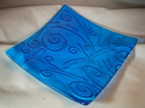 Image of Dragon fly platter #12