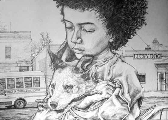 "Image of Rustam QBic ""Lucky Dog"""