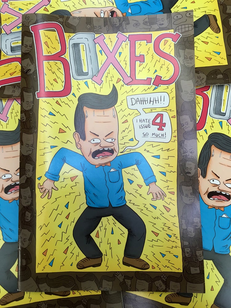 Image of Boxes Issue 4