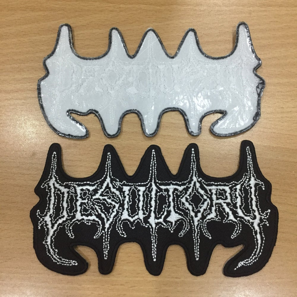 Image of DESULTORY Logo Embroidery Patch