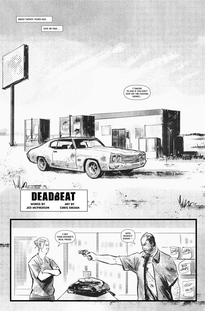Image of Deadbeat (Comic)