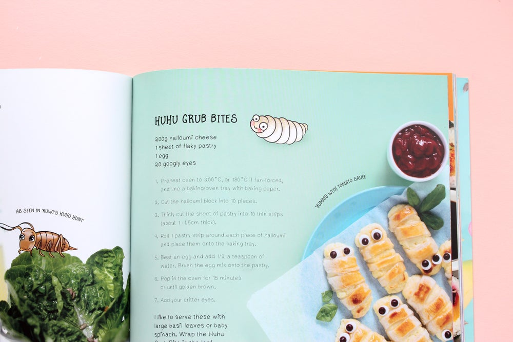 Image of Kuwi's Kitchen - Kiwi Kids' Cookbook