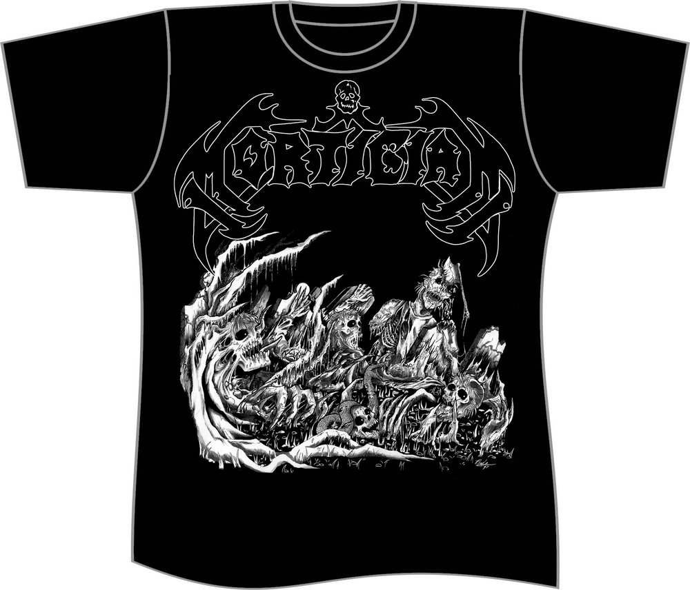 Image of MORTICIAN T SHIRT (PREORDER SHIPS NOV 17TH)