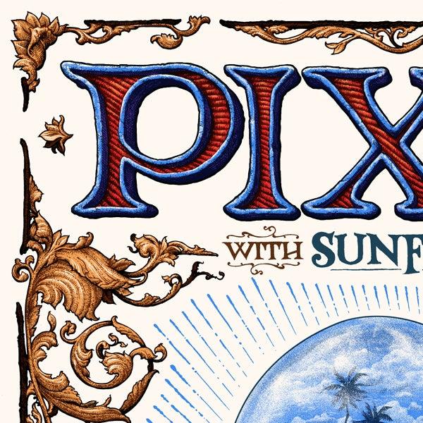 Image of PIXIES gig poster, September 22, 2017 at Westbury Theater, Westbury New York
