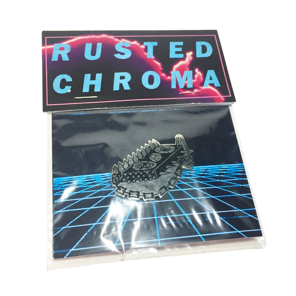 Image of RUSTED CHROMA - ENAMEL PIN