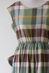 Image of SOLD Pockets Full Of Plaid Dress