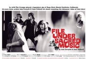 Image of File under Sacred Music poster (2009)