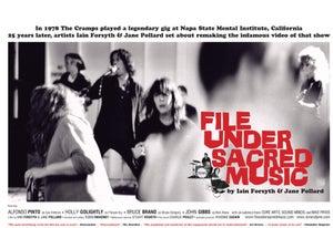 Image of File under Sacred Music poster (2009)