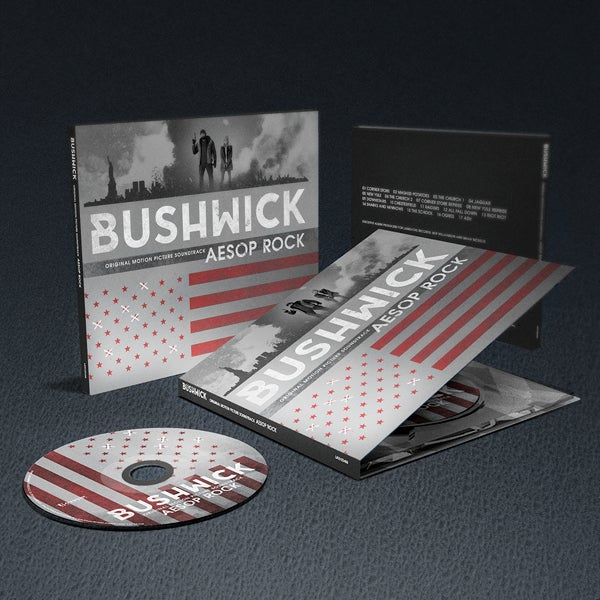 Image of Bushwick (Original Motion Picture Soundtrack) CD - Aesop Rock