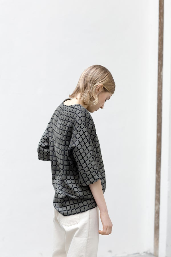 Image of Dama - Jacquard Top
