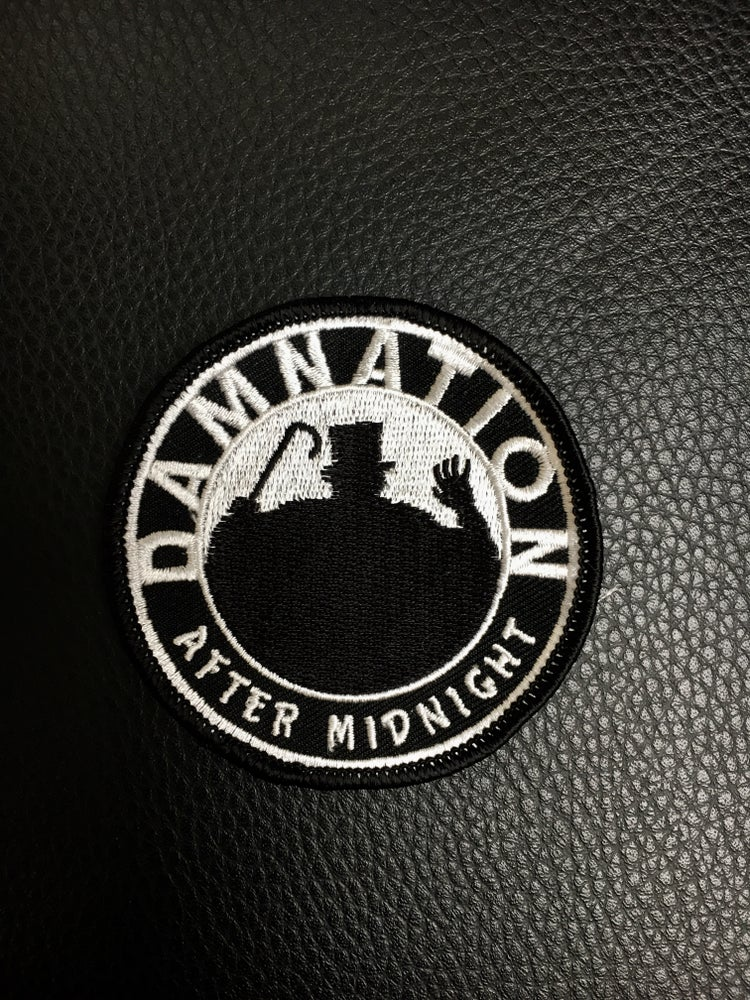 "Image of 3"" embroidered ""After Midnight"" patch"