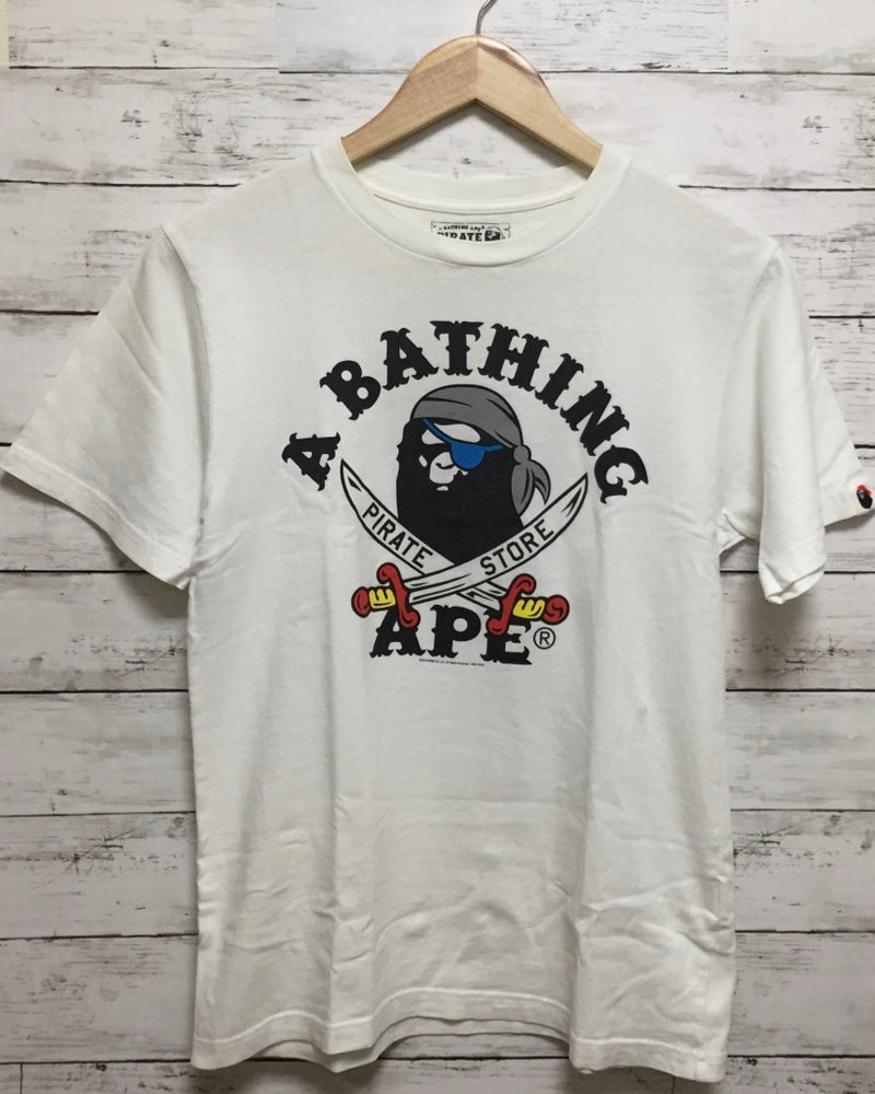 Image of Bape Japan Exclusive Pirate Store T-Shirt (W)
