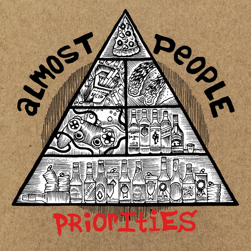 """Image of Almost People """"Priorities"""" 12"""""""