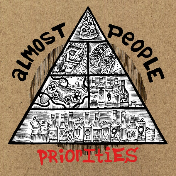 "Image of Almost People ""Priorities"" 12"" PREORDER"