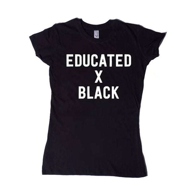 Image of Educated x Black Women's T-Shirt