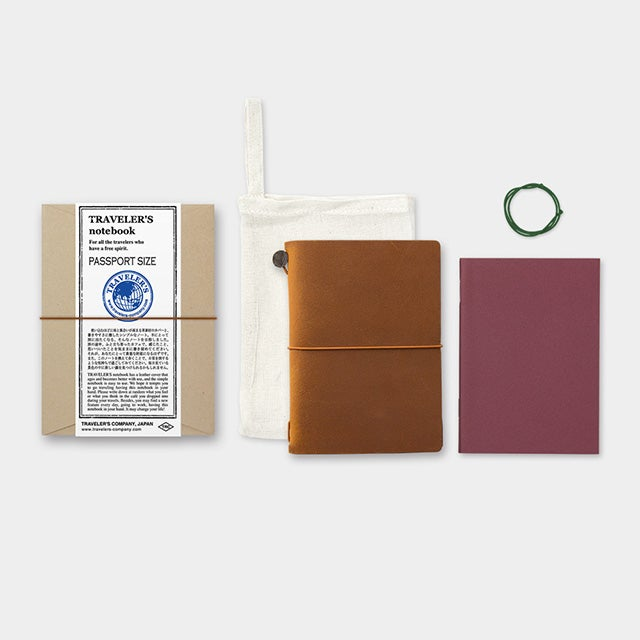 Image of TRAVELER'S notebook Passport Leather Cover
