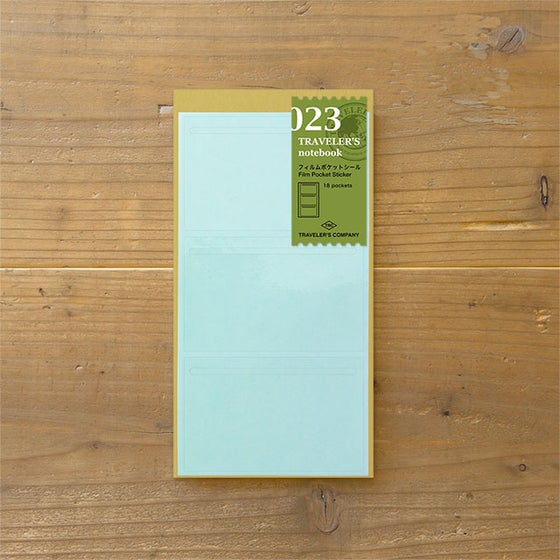 Image of TRAVELER'S notebook Regular Film Pocket Sticker Refill 023