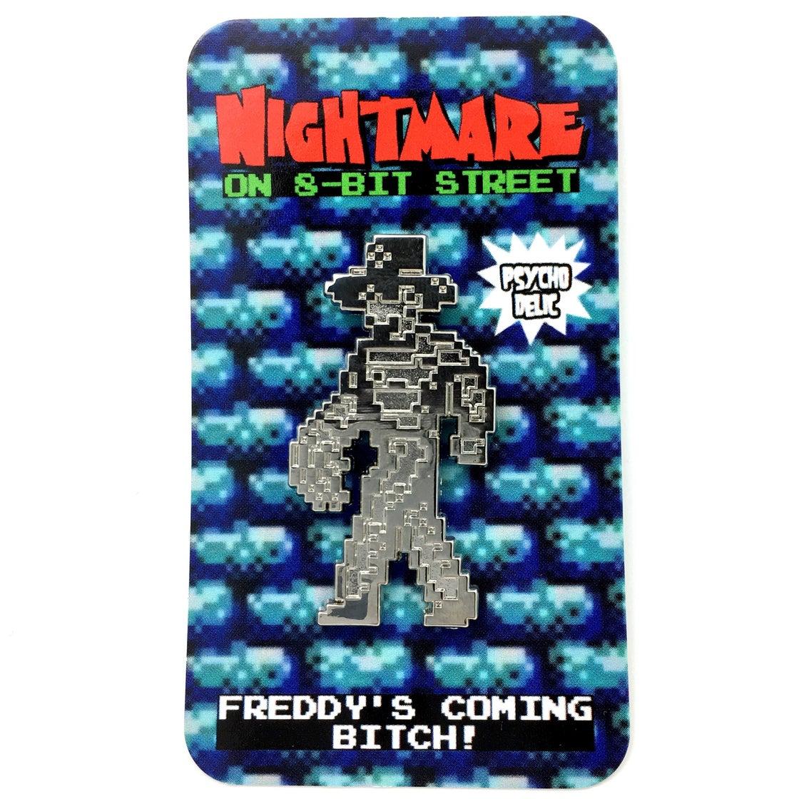 Image of 8-bit Freddy SILVER EDITION