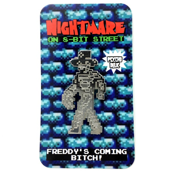 Image of 8-bit Freddy SILVER EDITION