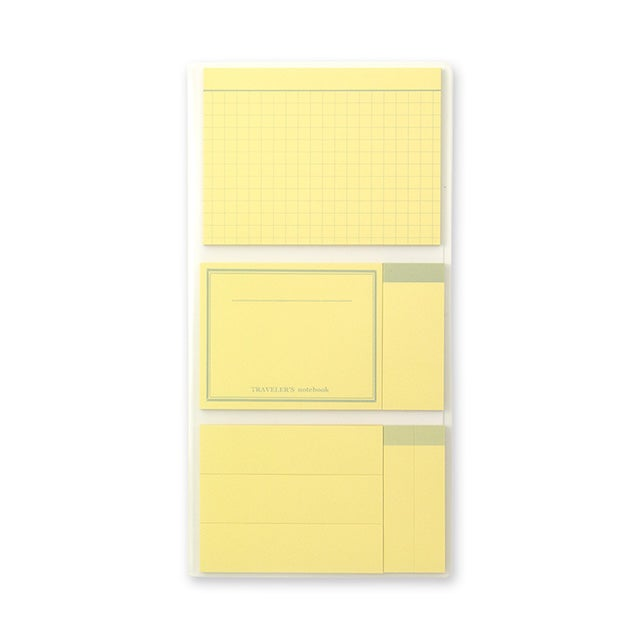 Image of TRAVELER's notebook Regular Post It Refill 022