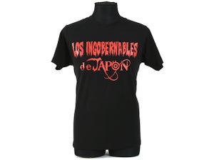 Image of Los Ingobernables Black x Red T-Shirt