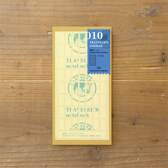 Image of TRAVELER'S notebook Regular Double Sided Sticker Refill 010