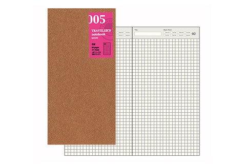 Image of TRAVELER'S notebook Regular Free Diary Refill 005