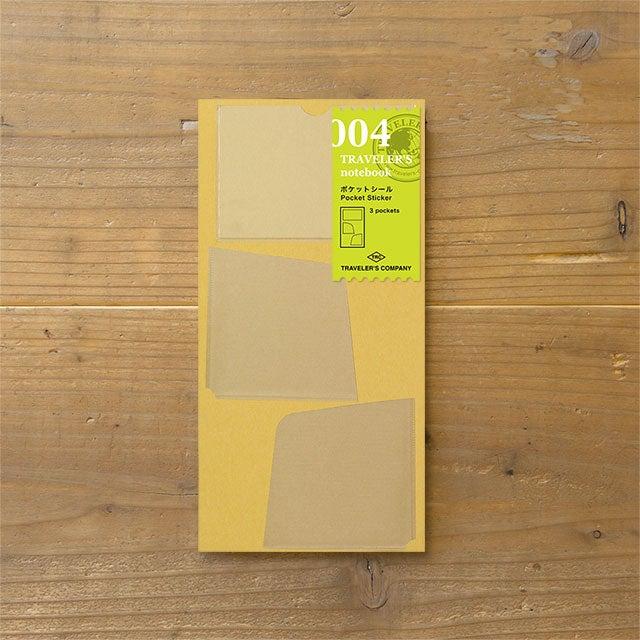 Image of TRAVELER'S notebook Regular (S) Pocket Stickers Refill 004
