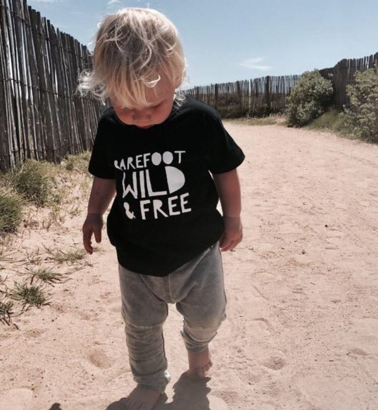 Image of BAREFOOT, WILD AND FREE