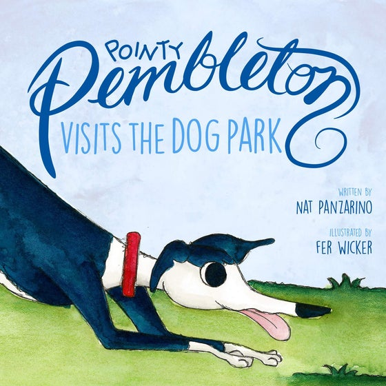 "Image of ""Pointy Pembleton Visits the Dog Park"" picture book"