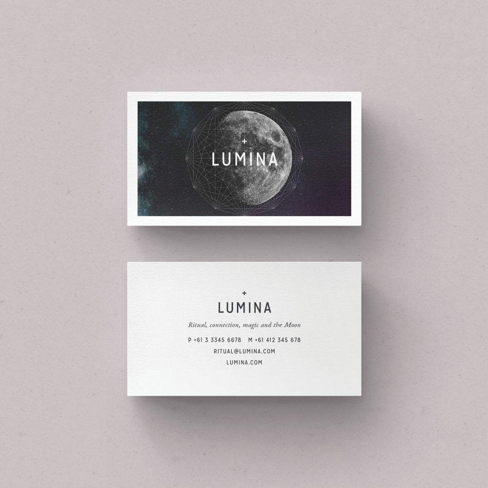 Image of LUMINA Business Card