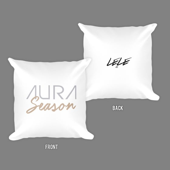 Image of Aura Season Square Throw Pillow