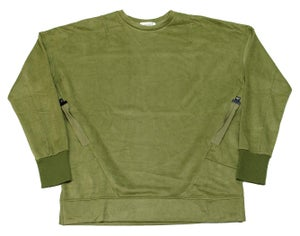 Image of Signature Pullover Olive