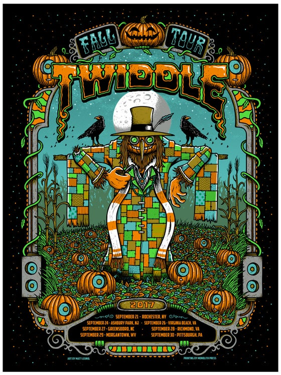 Image of Twiddle - Fall Tour - 2017 & variants