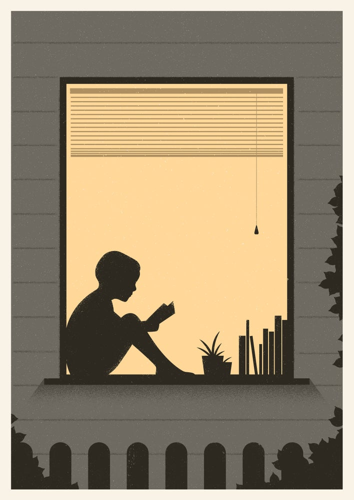 Image of Windowsill Artprint