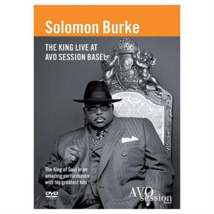 Image of SOLOMON BURKE - The King Live At Avo Sessions - DVD