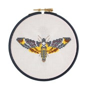 Image of Dark Moth cross-stitch kit