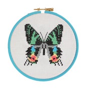 Image of Sunset Moth cross-stitch kit
