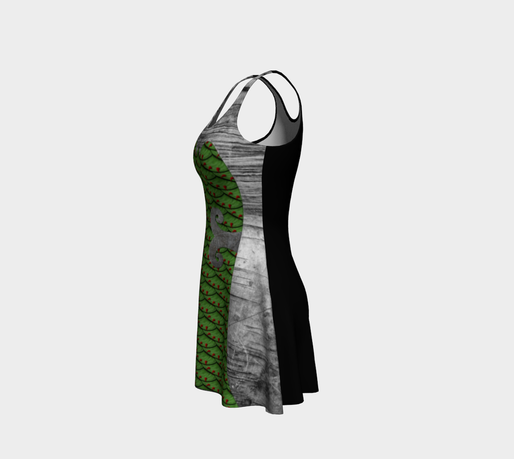 Image of AREA 51 HOLIDAY FLARE DRESS