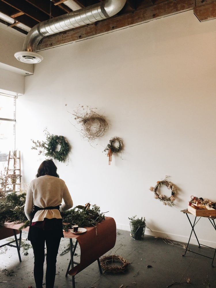 Image of Holiday Wreath Making