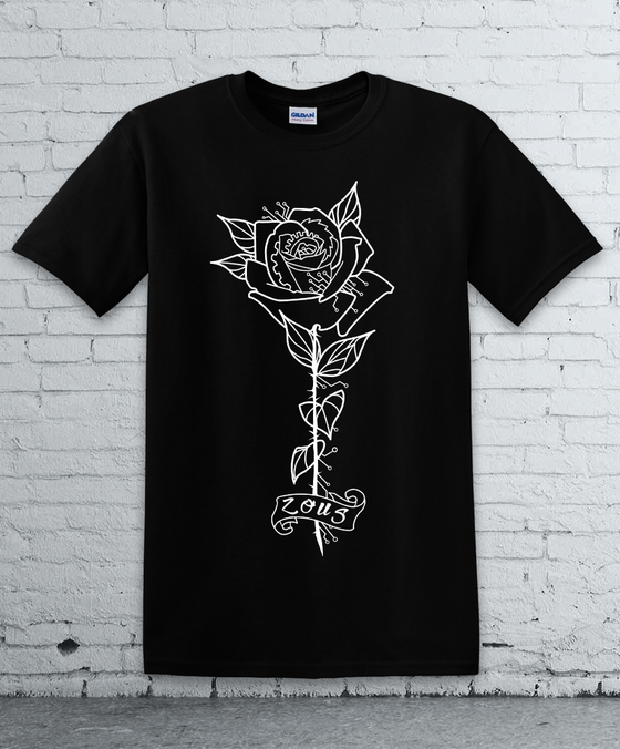 Image of M ZOUS ROSE TEE