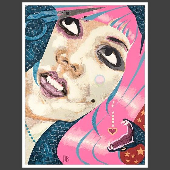 Image of Dazzling Dissolving: Miriam 8x10 Fine art print